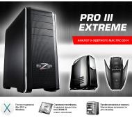 Вышла долгожданная модель PRO 3 Extreme. По производительности как 2-х процессорный Mac Pro.