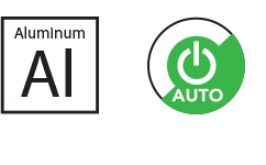 Aluminum and Power Icons