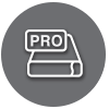 Pro Thunderbolt Storage Icon